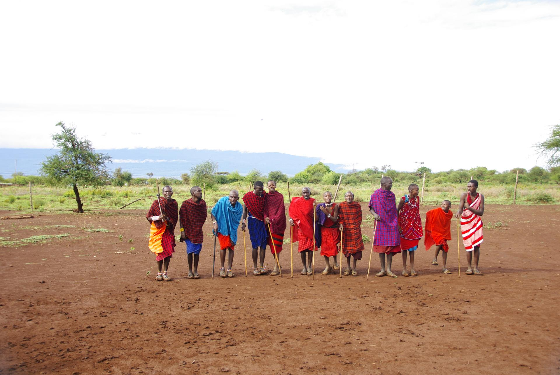 Village masai 1